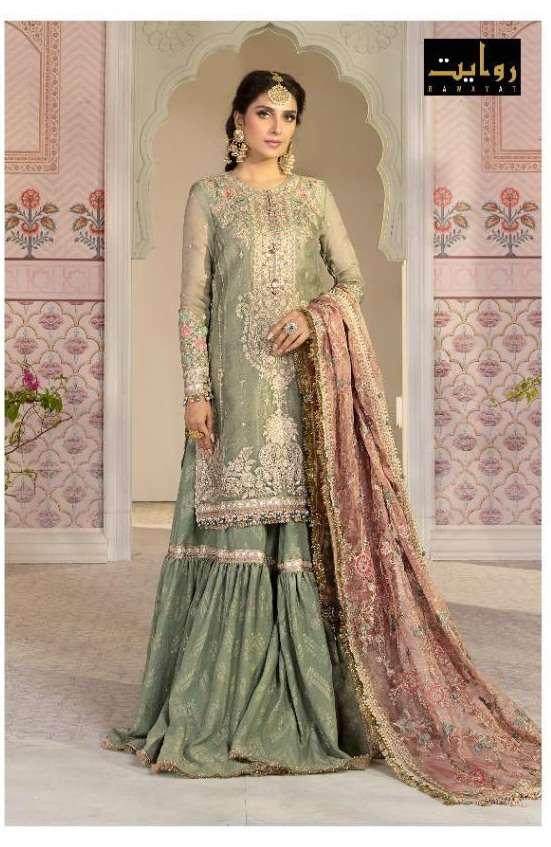 Rawayat Mbroidered