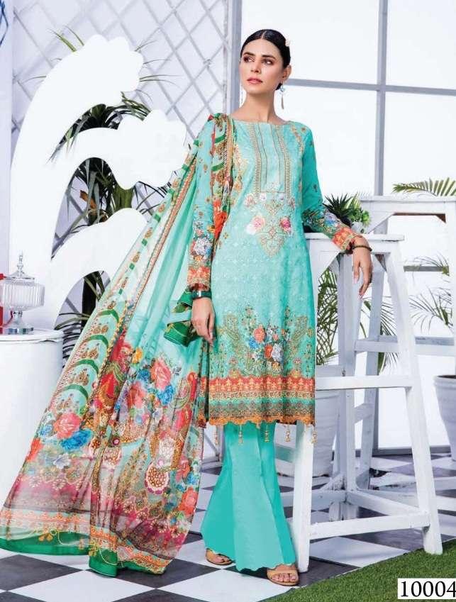 Sana Safinaz Luxury Lawn collection  vol 10