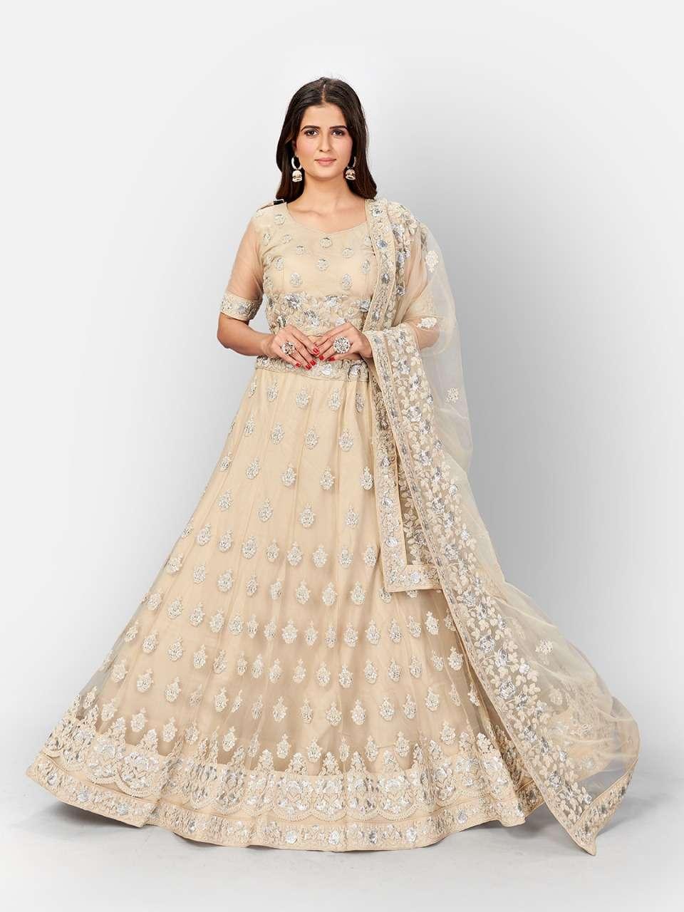 Urva Off White colour Lehenga Choli