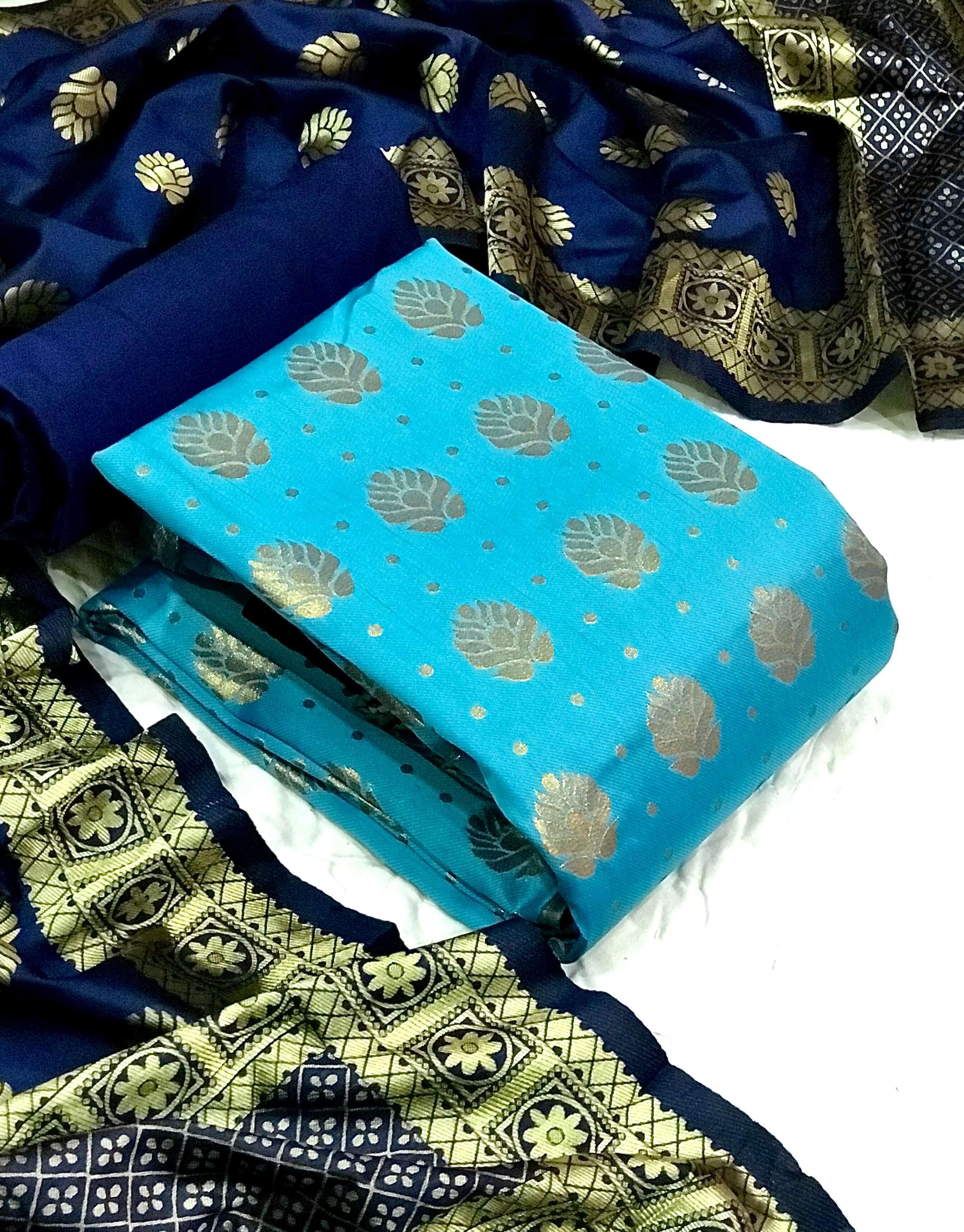Banarasi Silk Dress vol 41