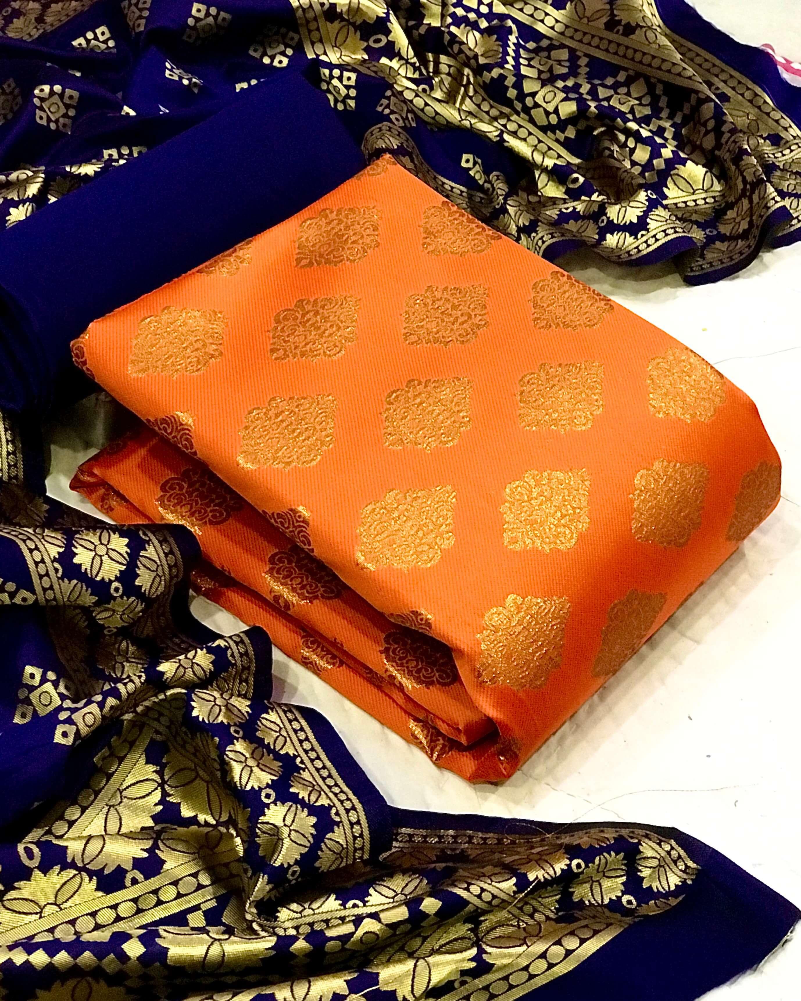 Banarasi Silk Dress vol 42