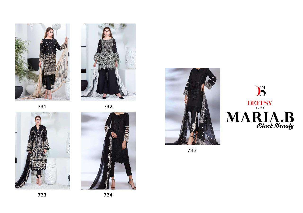 Deepsy  Maria B Black Beauty