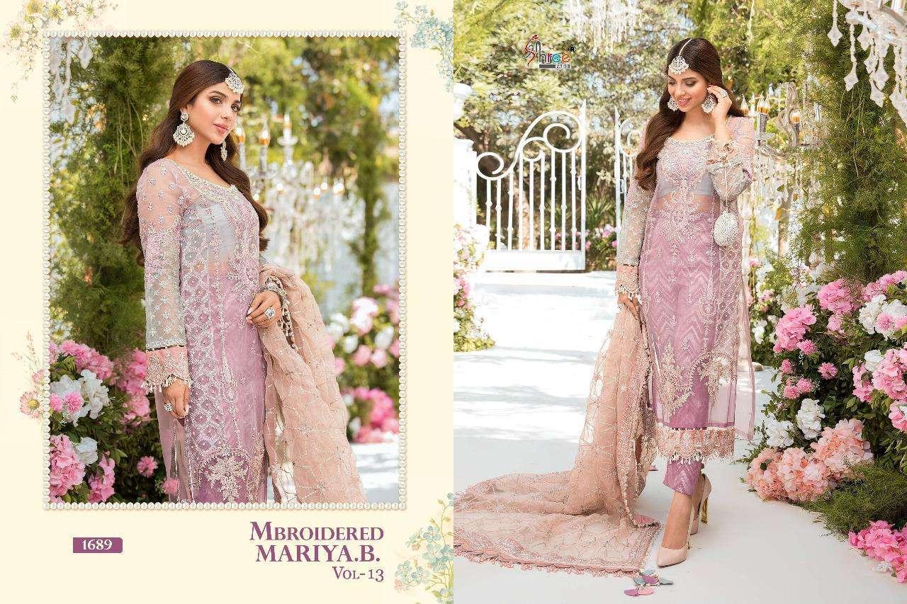 Shree Mbroidered Mariya B  vol 13