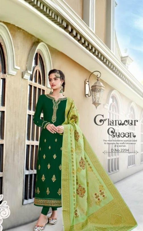 Alisa Present Suhan Festival Wear  Georgette Salwar Suits Catalogue