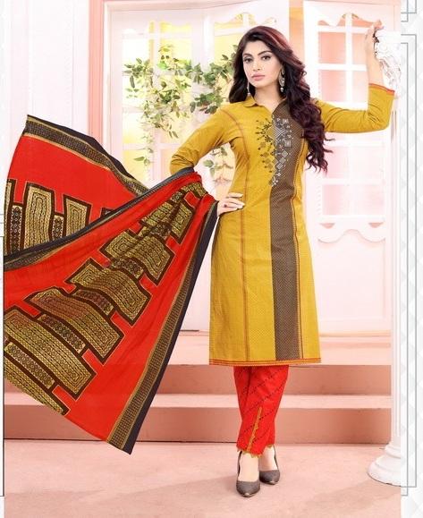 Aradhya Vol 7  By Lassa Printed Cotton Dress Material Catalogue