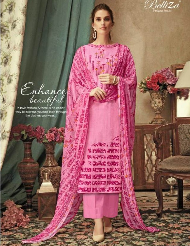 Belliza by Richa Pure Premium Rayon Material Collection