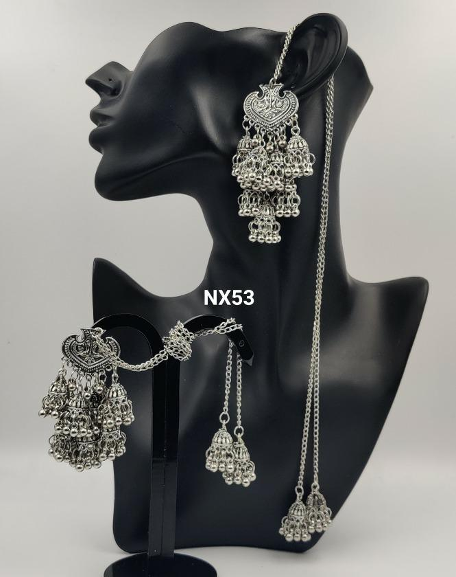 IJ Presents Silver Beaded Buy Beaded Earrings online at Best Prices in India