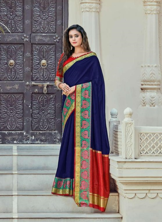 Sangam Kadi Silk Vol- 7 Buy Cotton Sarees Online in India