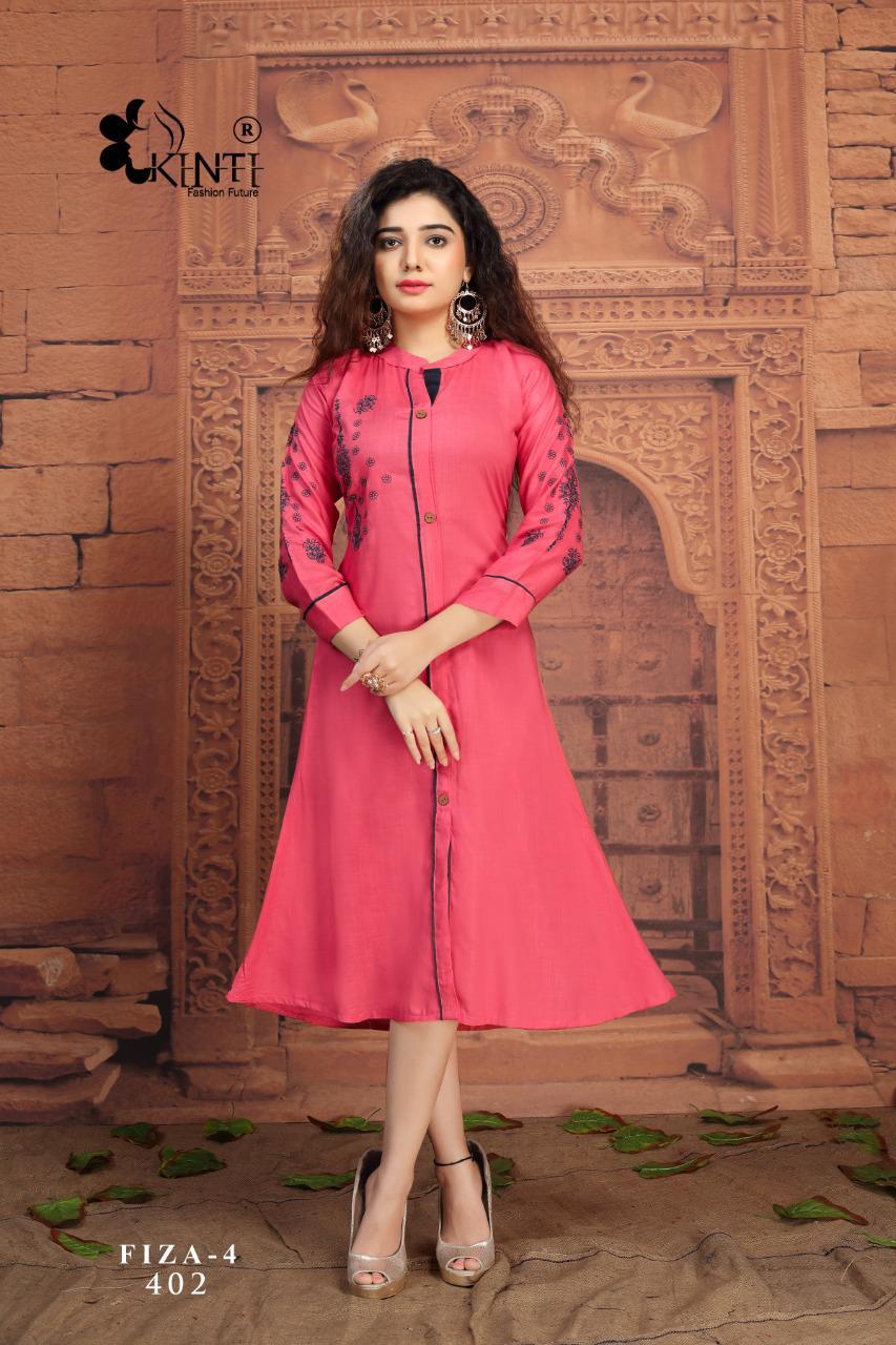Kinti Fiza Vol 4  Buy Designer Fancy Party wear Kurtis Online in Surat