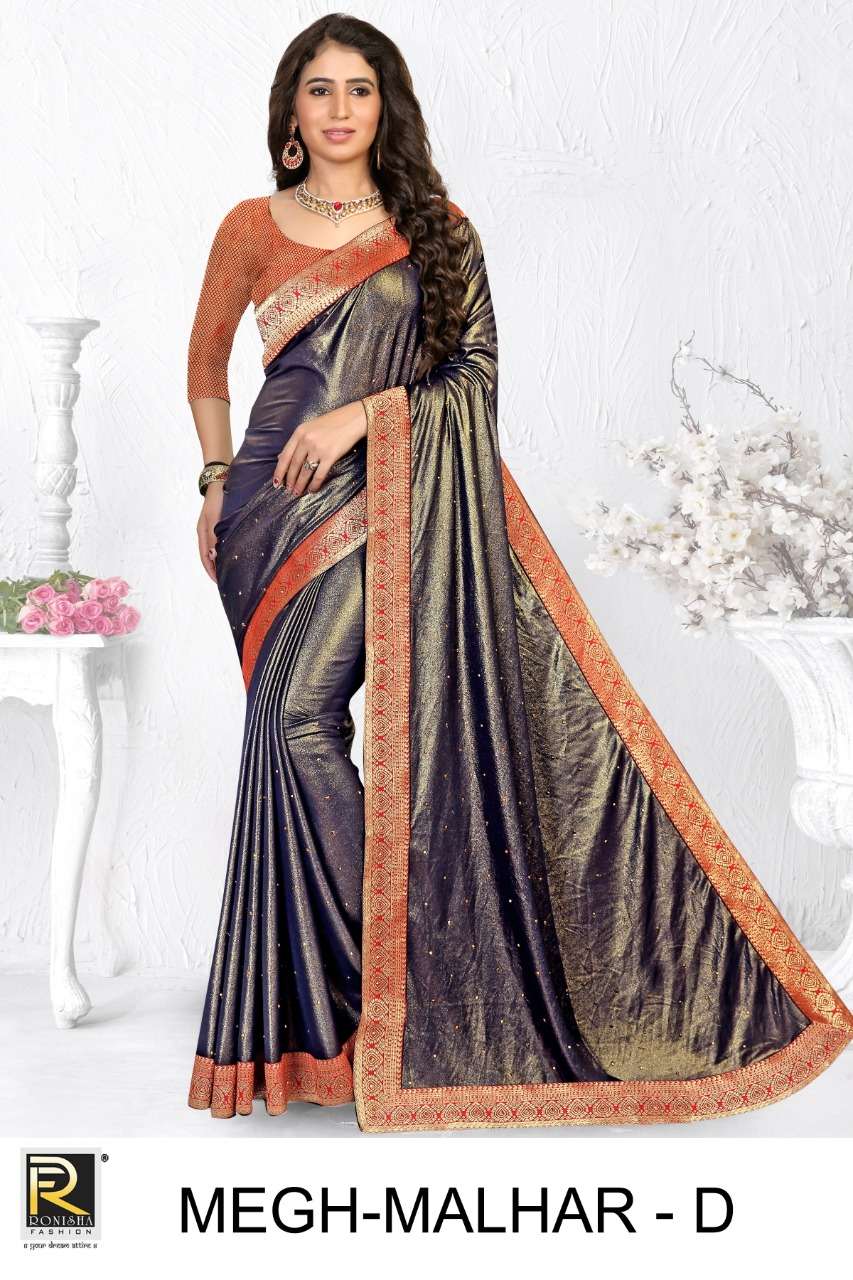 Ranjna Megh Malhar  Buy Latest Sarees  Collection Online in India