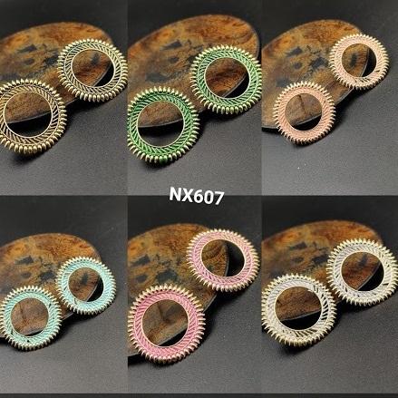 IIJ Oxidised Gold Plated Design Earrings Buy Oxidised Jewellery Earrings online in India