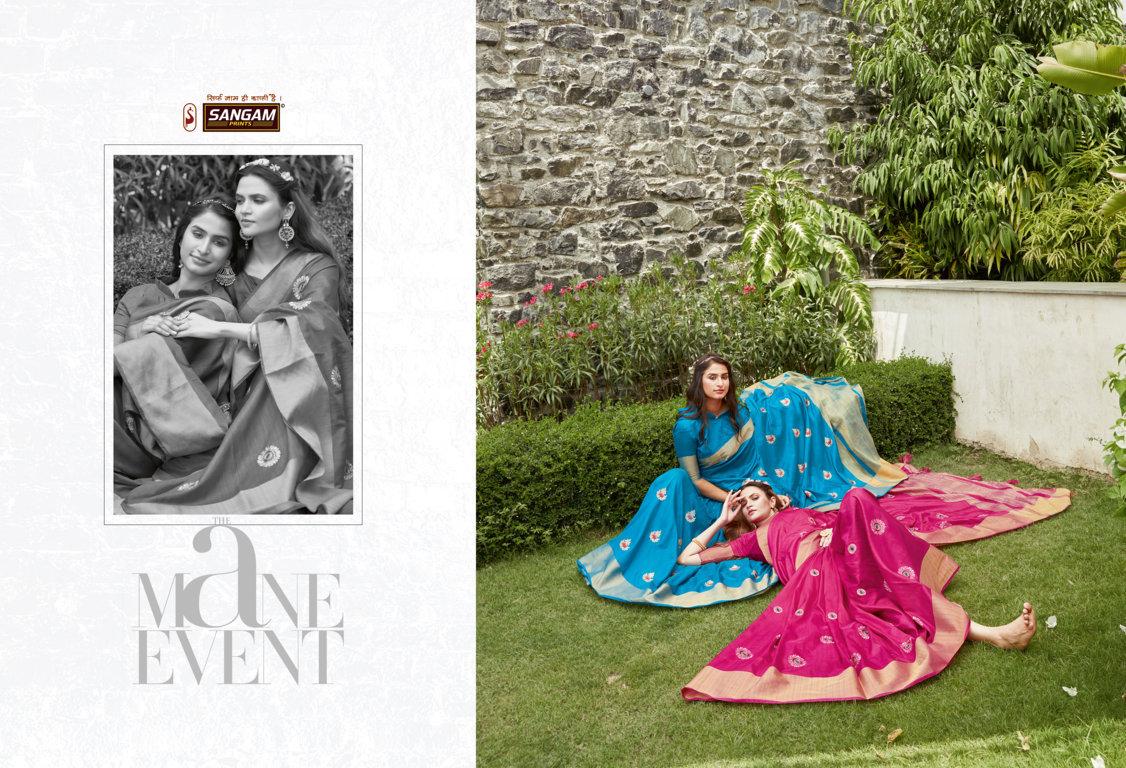 Sangam Padmashree  Buy  Women's Handloom Silk Sarees