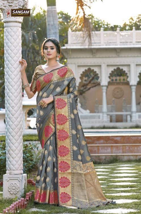 SANGAM  KANUPRIYA Buy Pure Silk Sarees Online in Surat