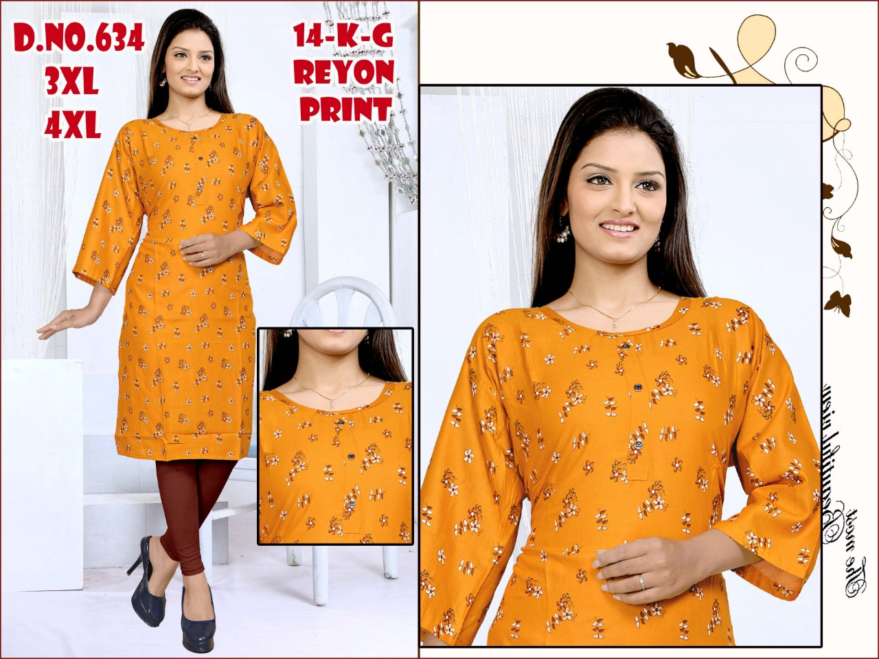 Fc presents Colors vol 6 Casual Wear Kurti Collection