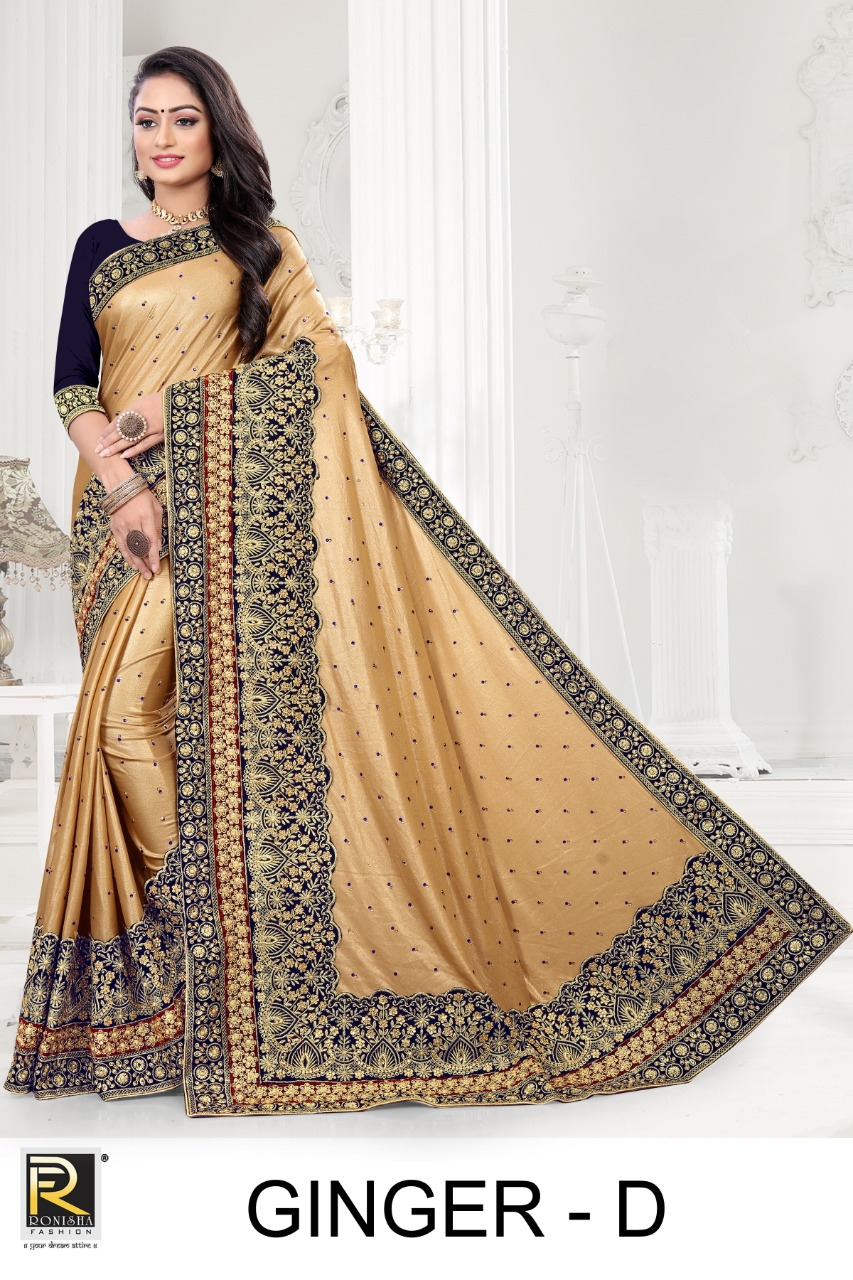 Ranjna presents Ginger Casual Wear Saree Collection