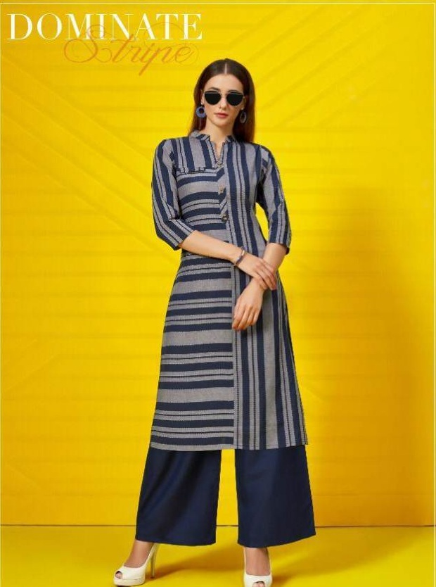 Cotton House vol 2 by Poonam Pure Cotton Printed Kurti With Palazzo