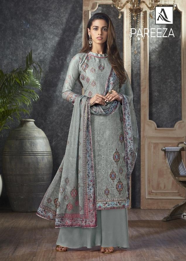 Alok  presents  Pareeza  Designer Dress Material