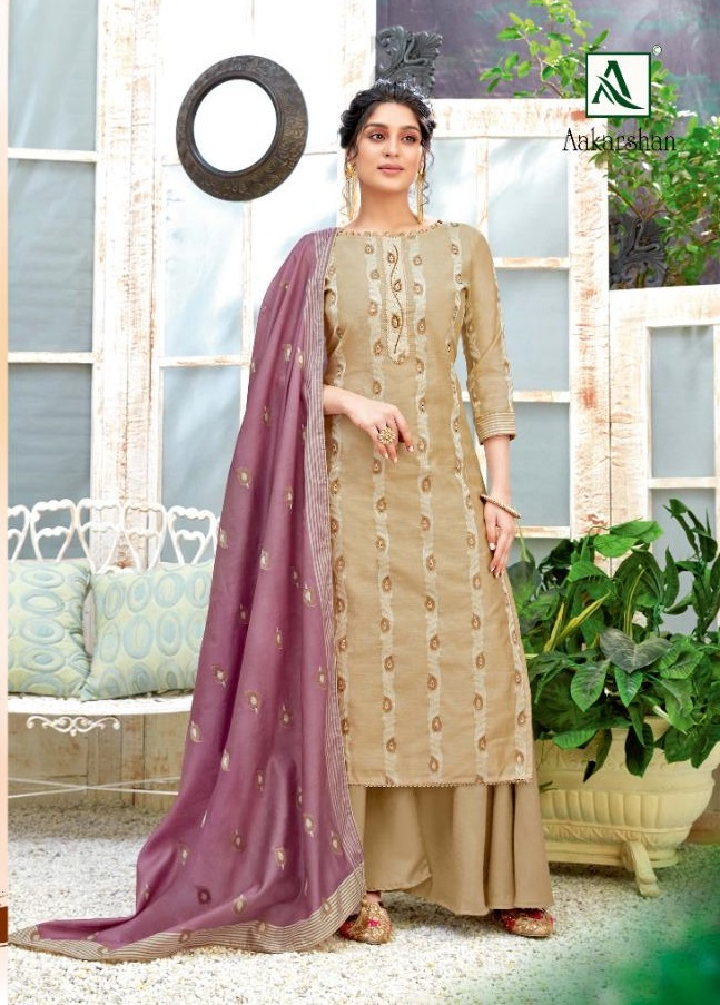 Alok Aakarshan Exclusive Designer Dress Material