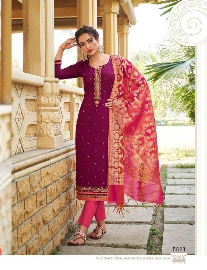 Kessi presents Parnita vol 5  Designer Dress Material Collection