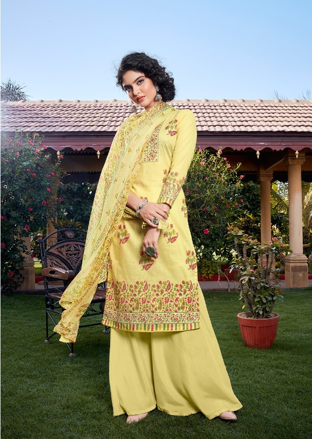Anita Kesariya presents Simran Digital Print Designer Dress Material