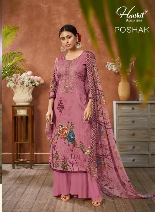 Harshit Poshak Buy Unstitched Dress Materials