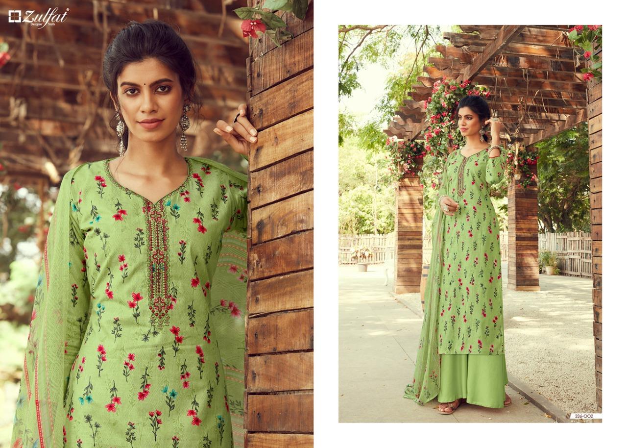 Zulfat Siyahi vol 2 cotton dress materials online