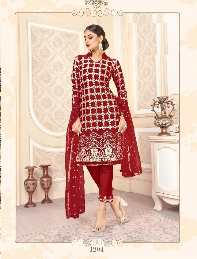 Rudra 202 Series Buy Latest Designer Salwar Suits 2021 Eid Catalog