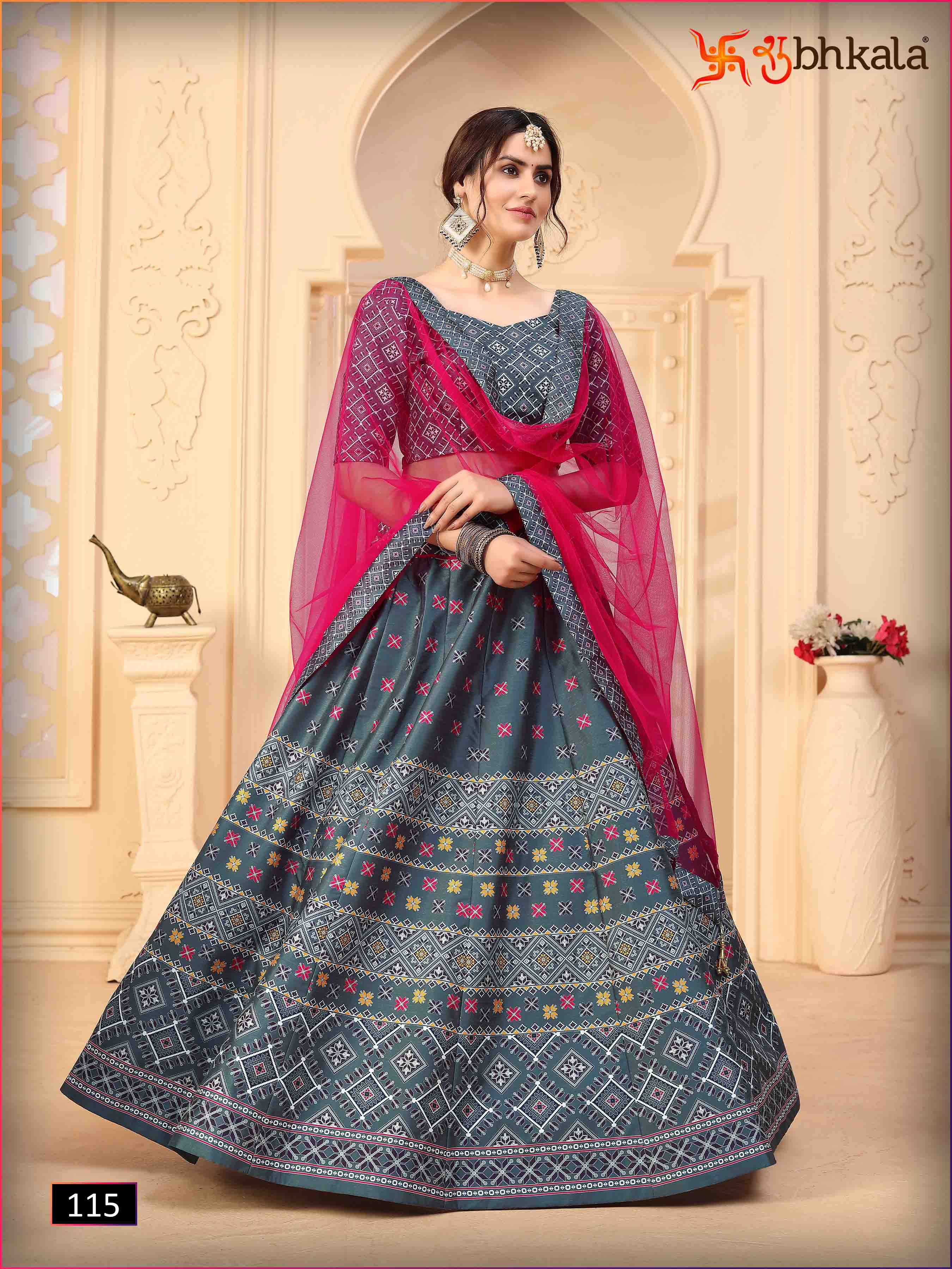 Kf Presents Floral Vol 2 Exclusive Designer Wedding Wear Lehenga