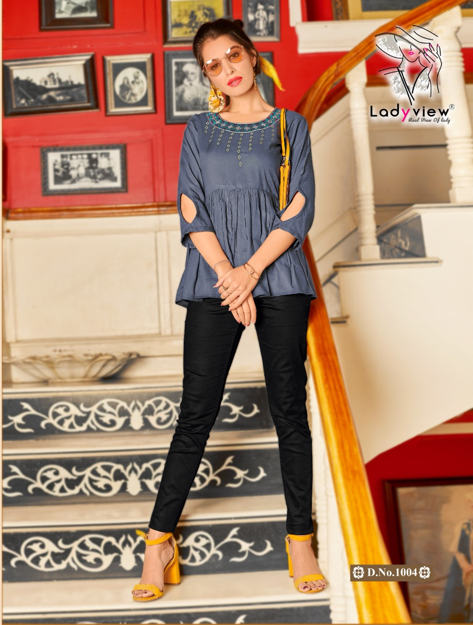 Lady View presents  Cool Crush Fancy Ladies Top Collection
