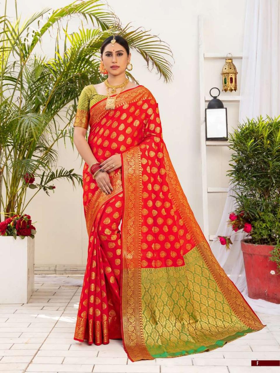 Shangrila  presents Vijaylaxmi Festive Wear Sarees Collection