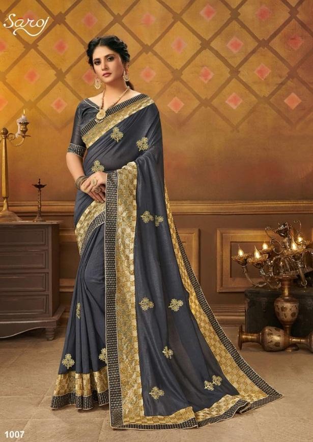 Saroj Presents  Divyajyoti  Festive Wear Sarees Collection