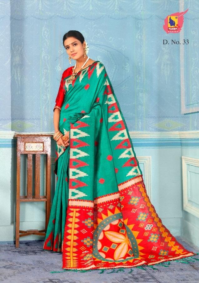 Ashika Presents Mrignaaini silk Festive Wear Sarees Collection