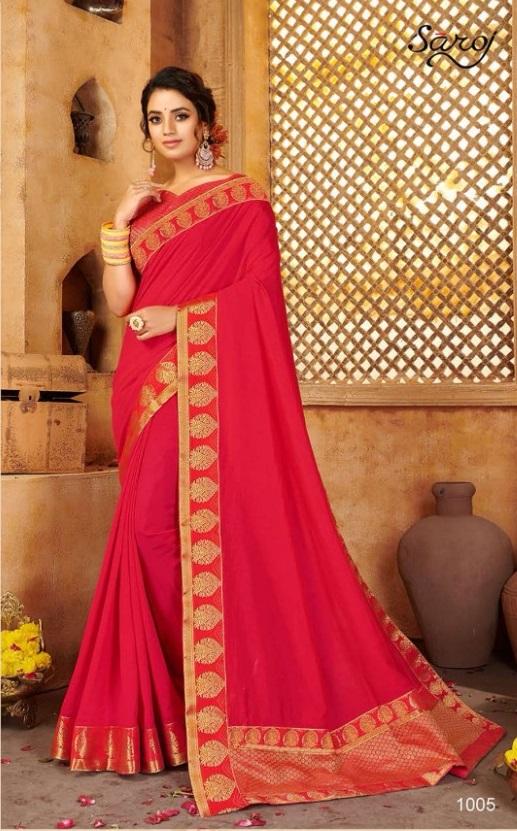 Saroj presents Tabassum Festive Wear Silk Sarees Collection