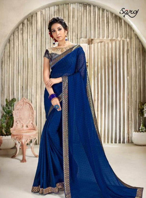 Gulnaaz By Saroj Designer Cotton Sarees Catalogue