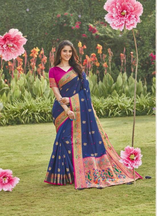 SANGAM PATTU Indian Wedding Silk Sarees Online Shopping