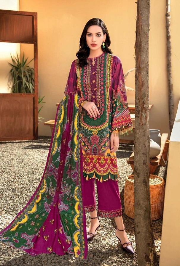 :Mishri presents  Gulbagh vol 2  Karachi Dress Materials