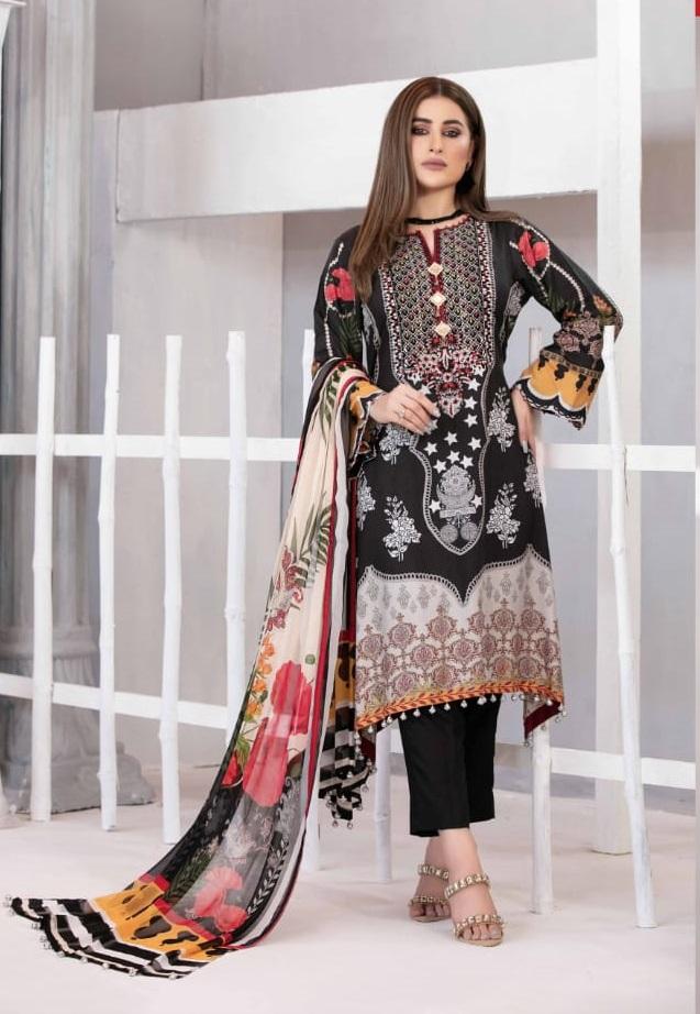 Agha Noor Tawakkal Printed Karachi Dress Catalog
