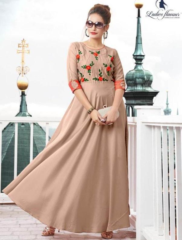 Ladies Flavour present Diss Miss Nx festival wear Long Kurti Collection