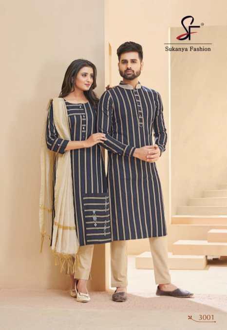 Banwary Royal Couple Vol 3 Latest Designer Combo Of Kurtas & Kurtis online