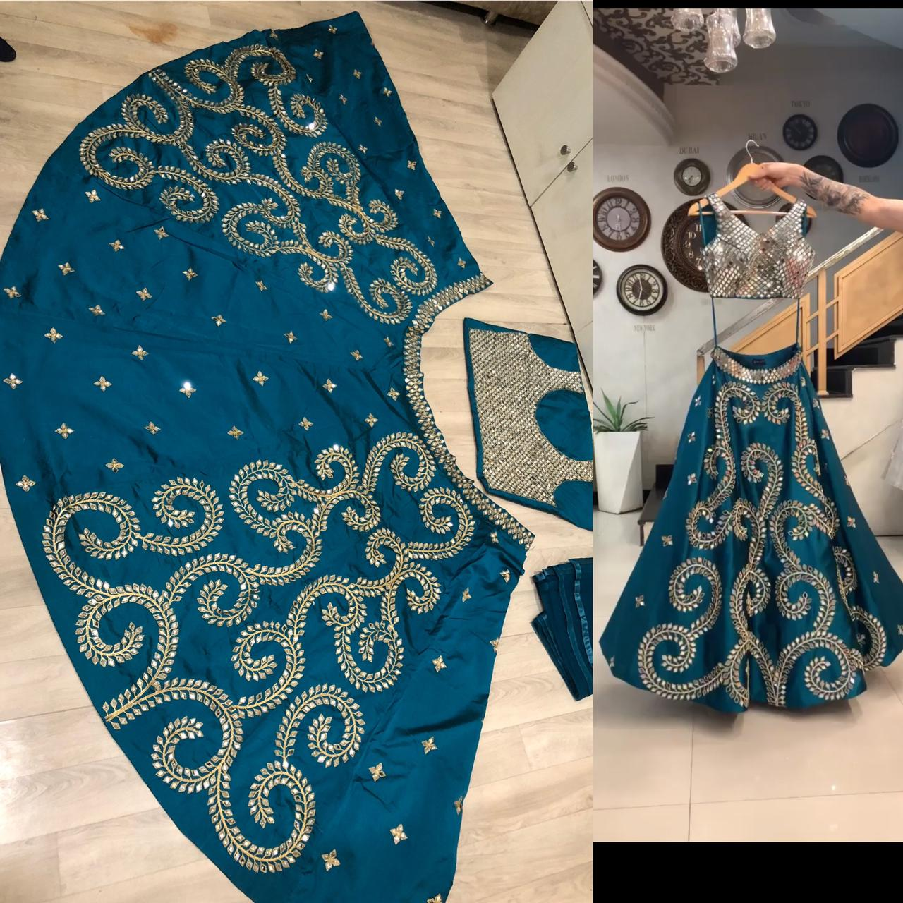 Fc Presents Mirror Lehenga 68 Latest Designer Mirror Work Lehenga Choli Online Shopping