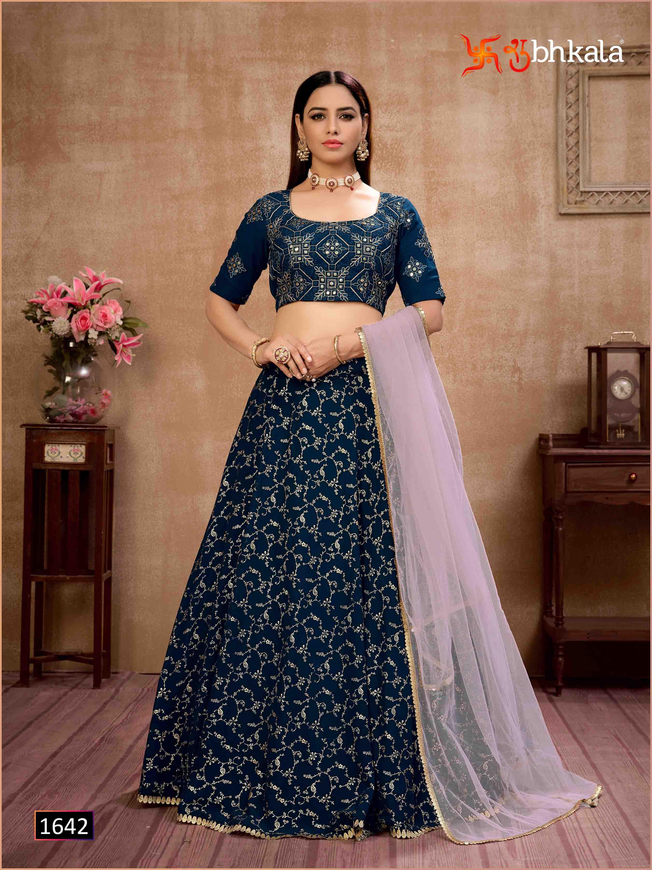 Kf Girly 1642 Latest Indian Designer Bridal Lehenga