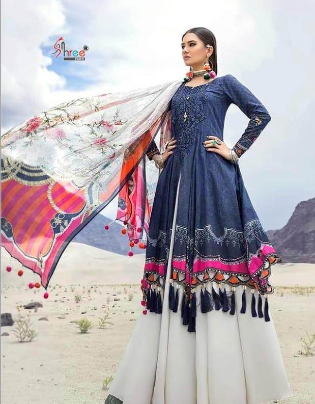 Mariya B Mprint 3 Nx By Shree Pakistani Suit Collection