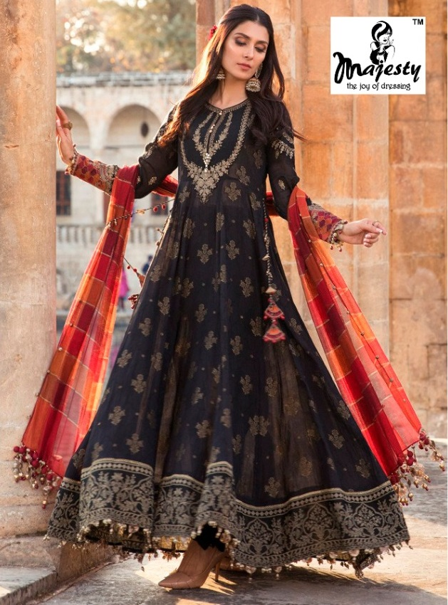 Majesty Maria B Lawn vol7 Pakistani Salwar Suits Collection