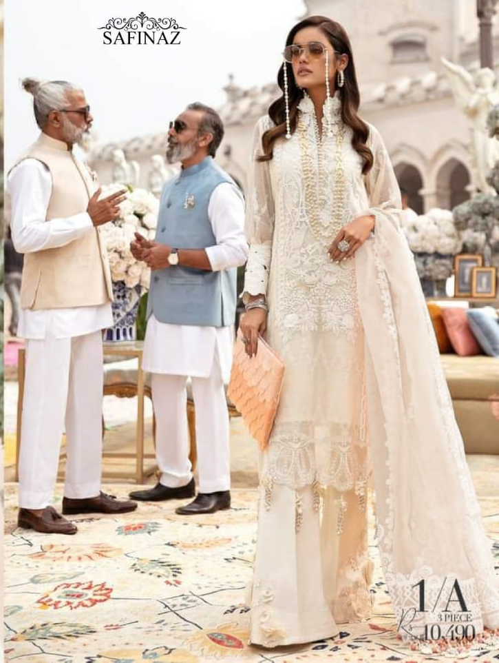 Safinaz Siffli Vol 1 Pakistani Salwar Design Cambric Cotton 2021 Catalog