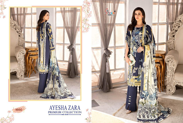 Shree Fab Ayesha Zara Premium Collection Buy Pakistani Salwar Suits Online