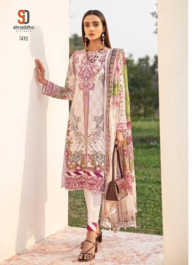 Shraddha Presents Vintage vol 5 Printed Karachi Dress Materials