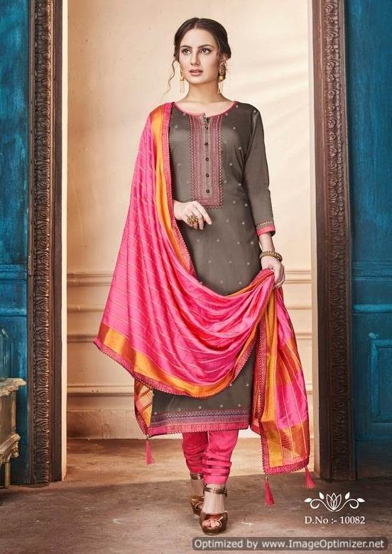 Ramaiya By Zanzar Festival Wear Dress Material Collection.