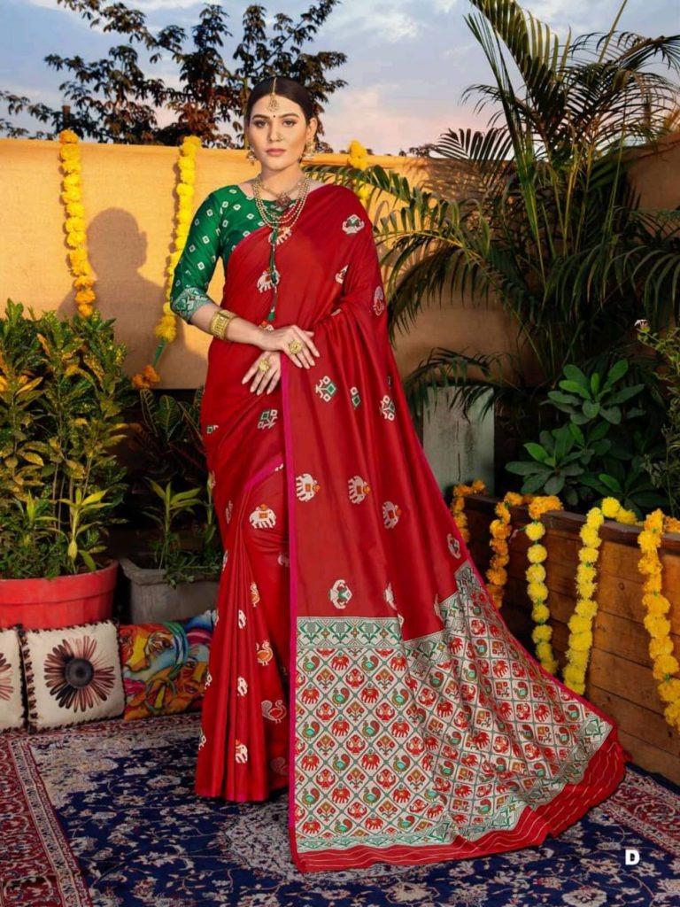 Shangrila  presents Sonpari Silk Festive Wear Sarees Collection