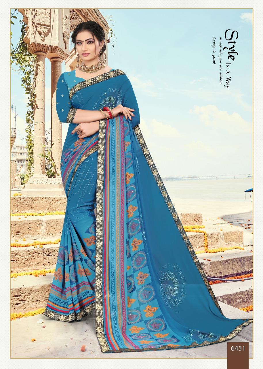 Sitka presents Blue Eyes vol 21 Regular Wear Sarees Collection