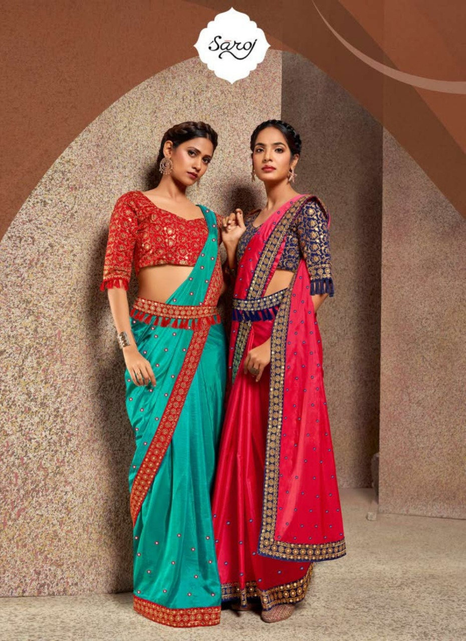 Saroj  presents  Aanchal  Silk Sarees Collection